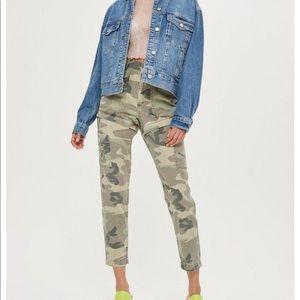 NWT Topshop Convertible Camo Pants